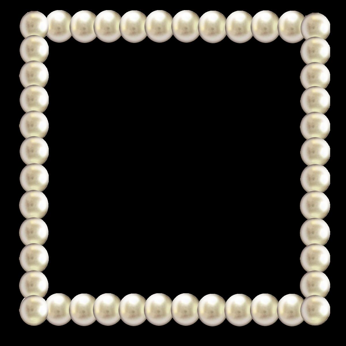 Frames table pictures transparentpng. Pearl border png