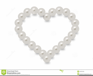 Pearls clipart. Pink free images at
