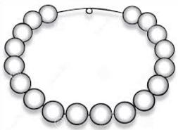 Free pearl necklace. Pearls clipart