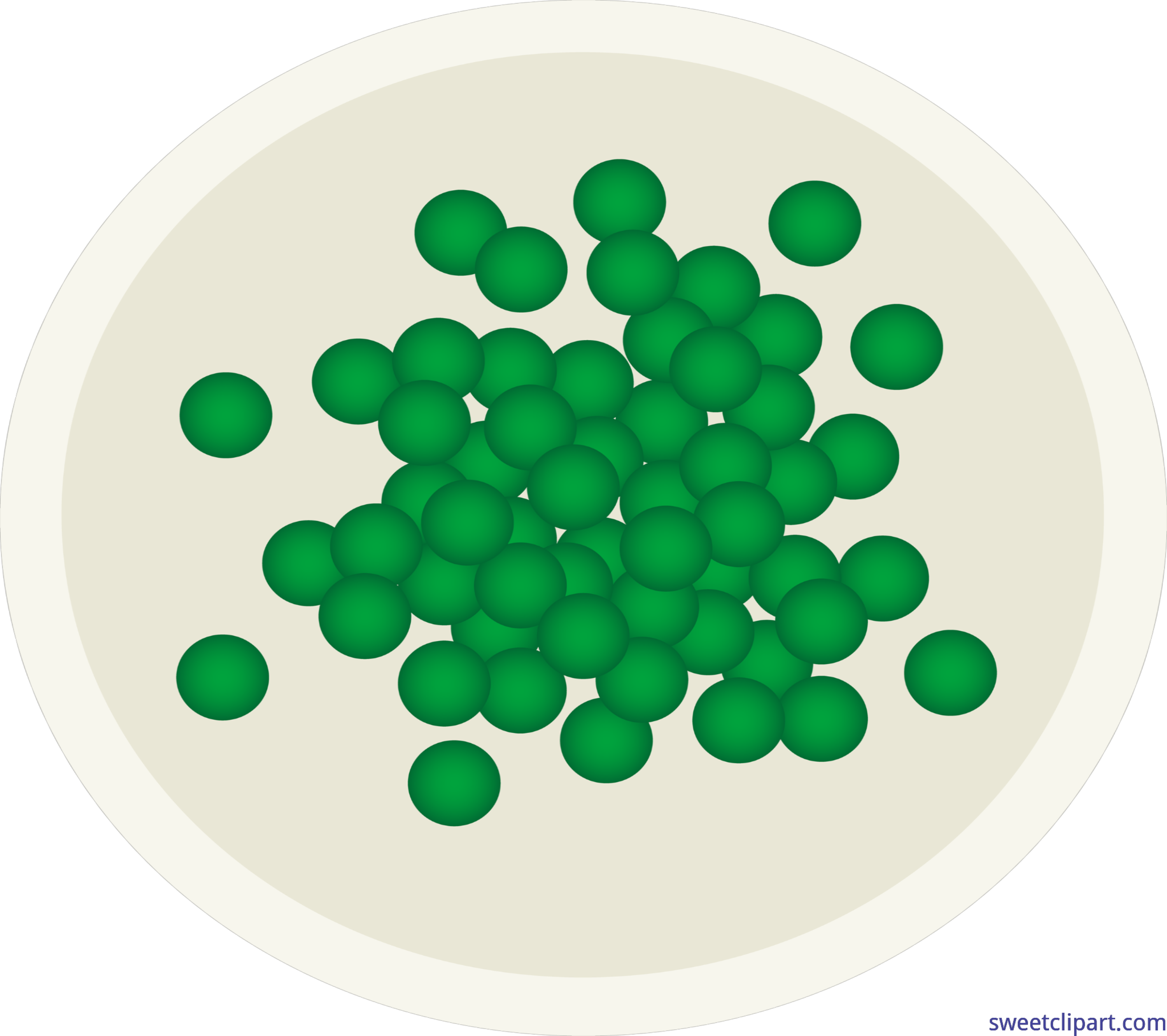 Mailbox clipart green. Peas on plate clip