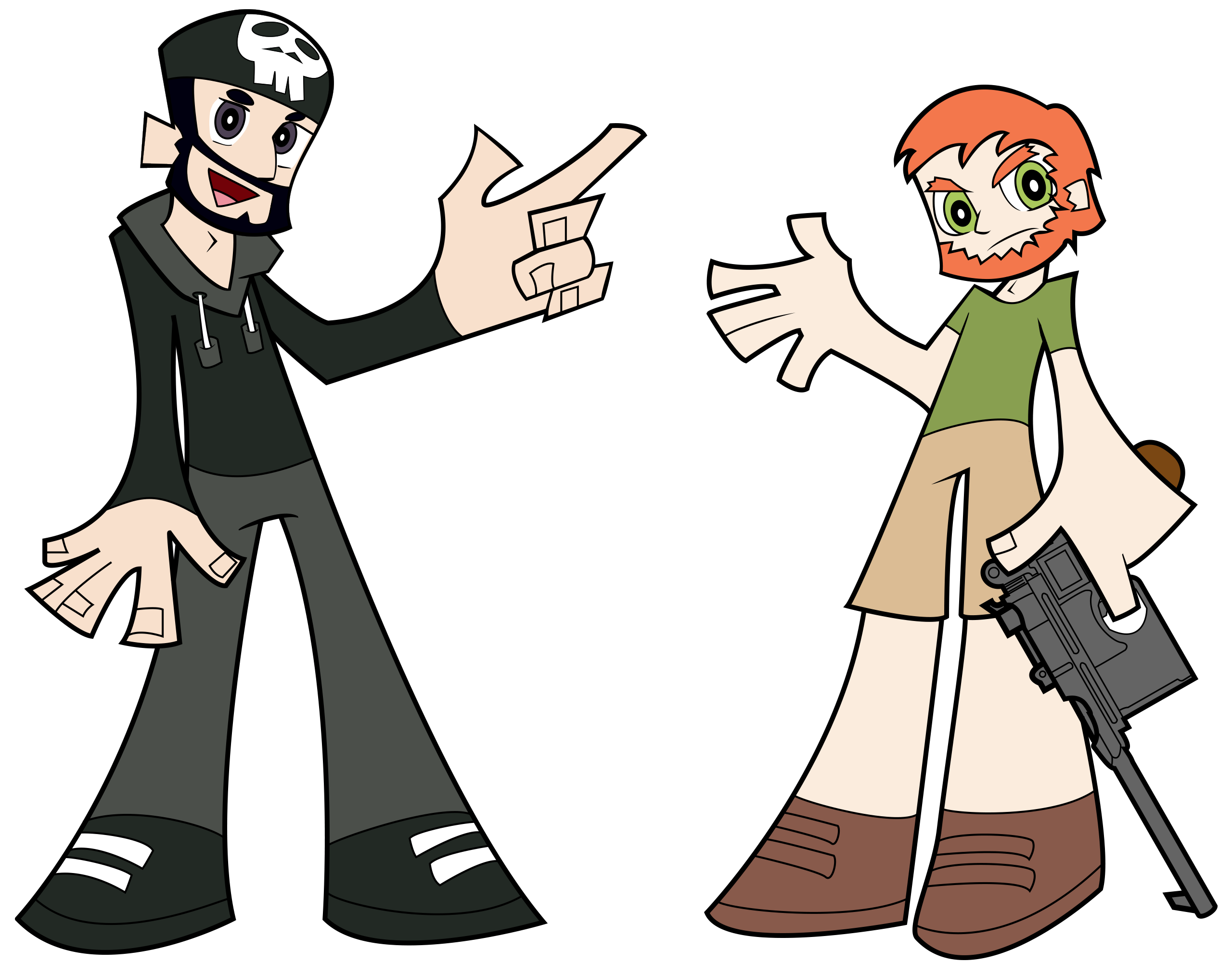 Best friends at getdrawings. Person clipart two faced