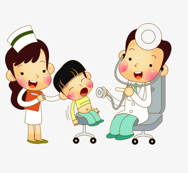 Pediatrician clipart. Cute wind illustrated diagnosis