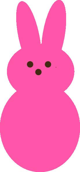 Bunny clipart vector. Free peeps cliparts download