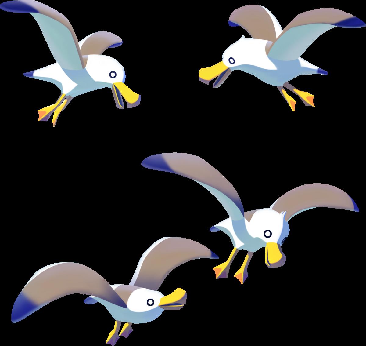 Zelda wiki . Pelican clipart seagull