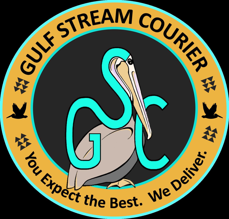 Gulf stream courier. Pelican clipart symbol louisiana