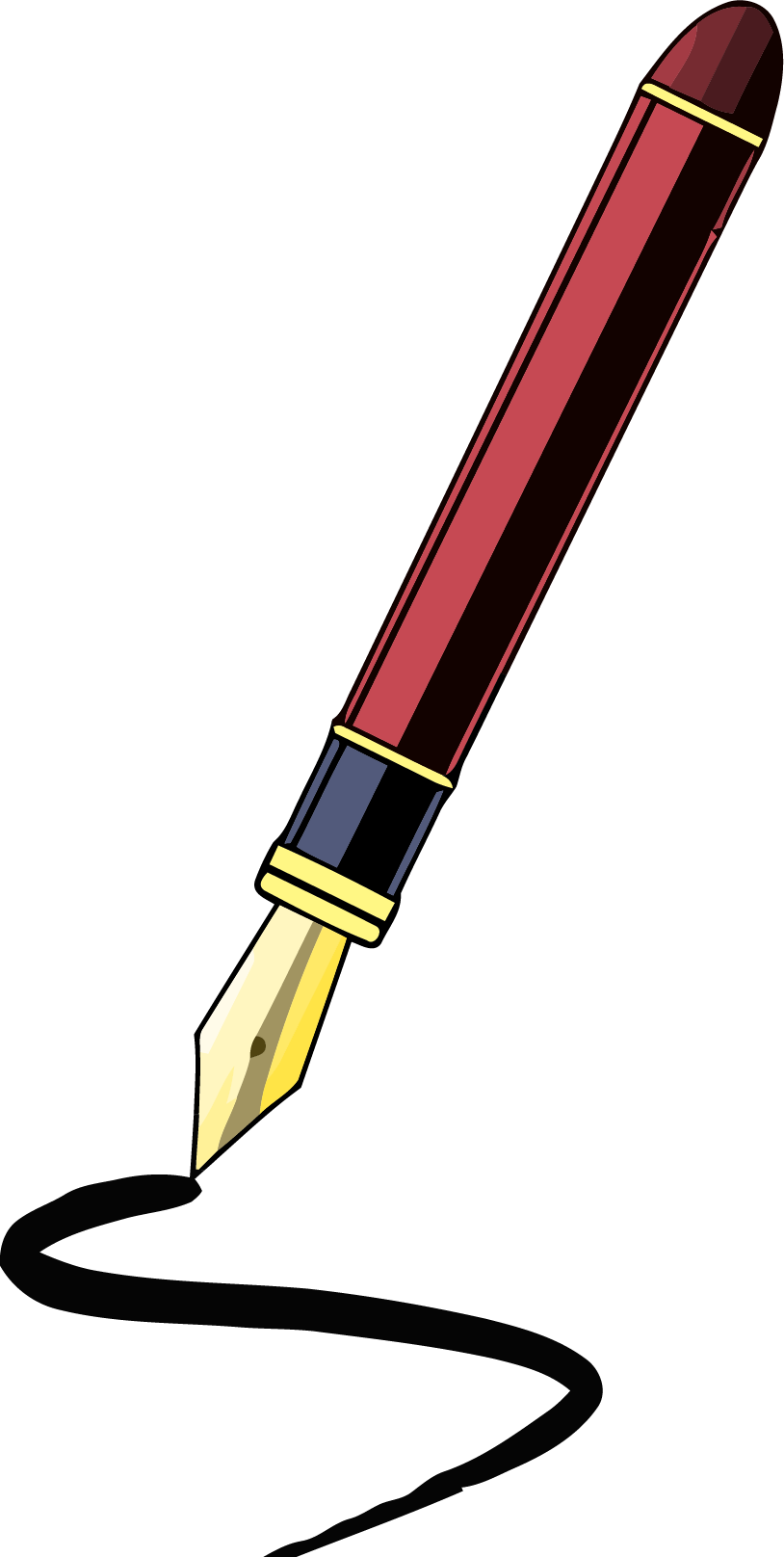 Fancy png clipartly comclipartly. Pen clipart