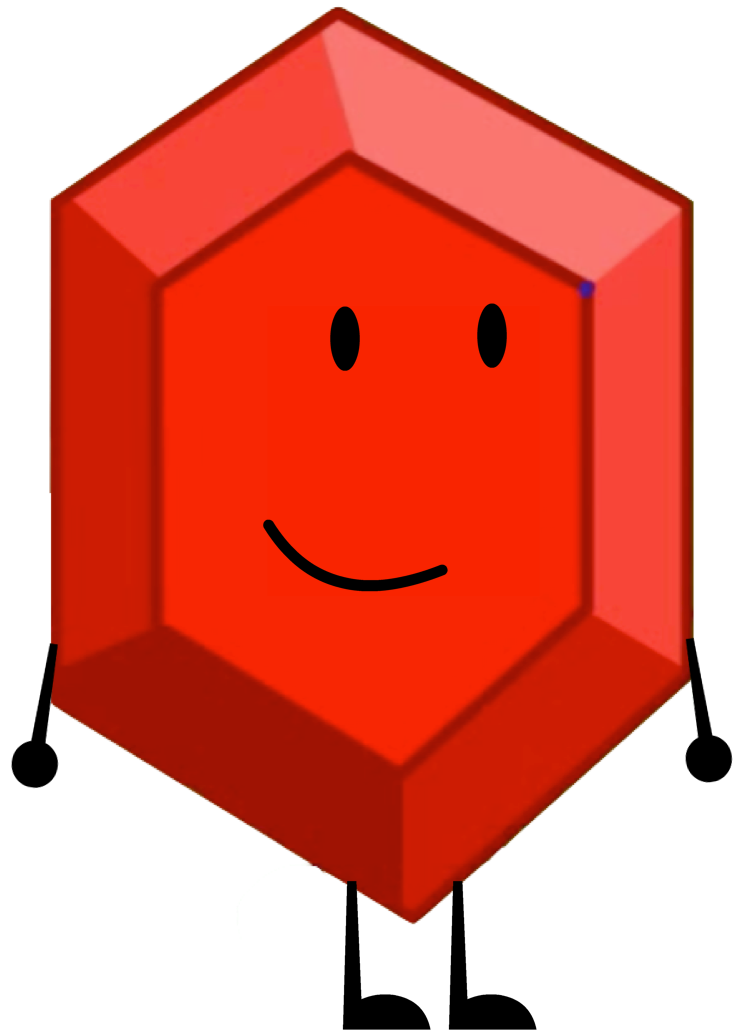 Pen clipart character. Rubiny recommended from bfdi