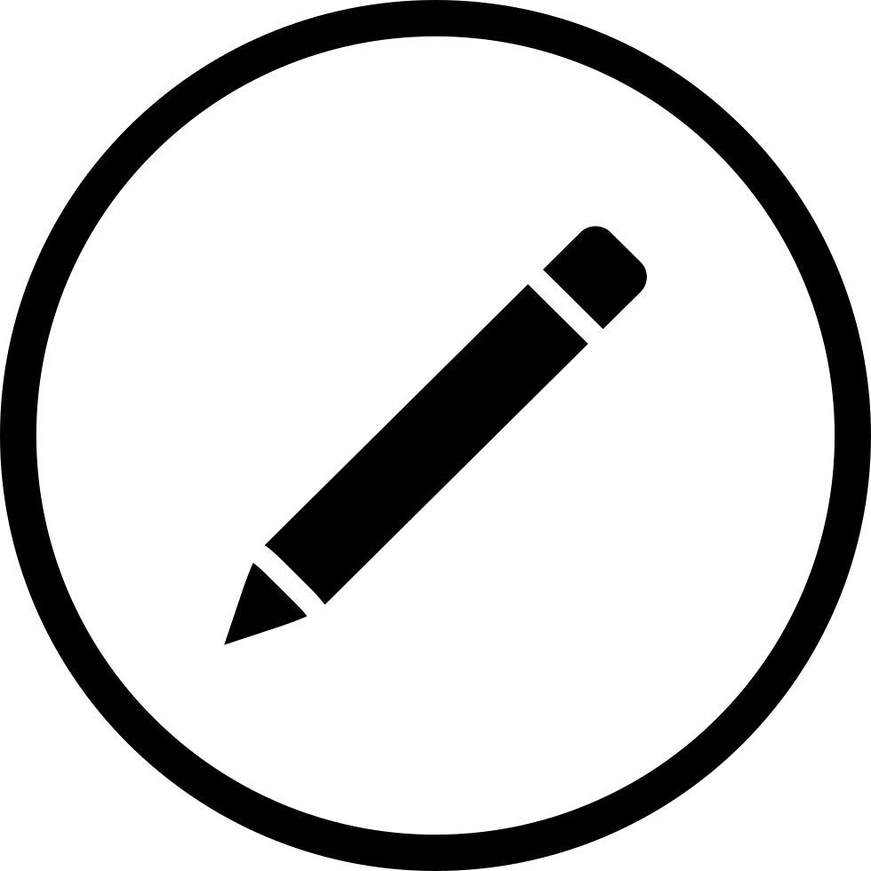 Clipart pen down. Svg png icon free