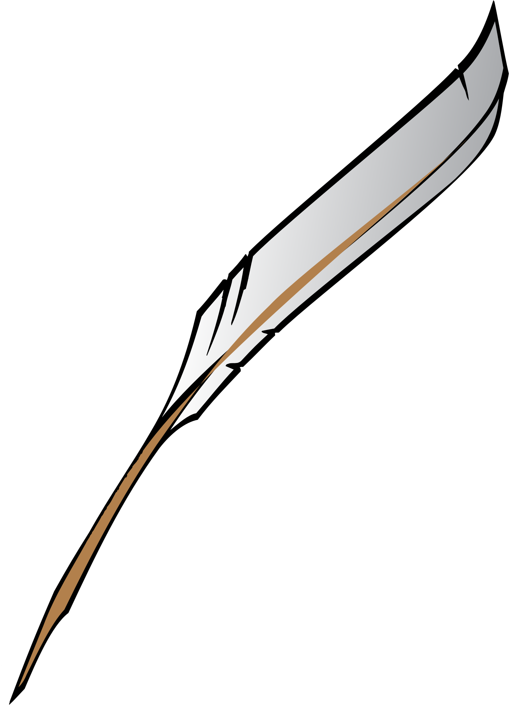 Feather pen vector png. Writer clipart quill