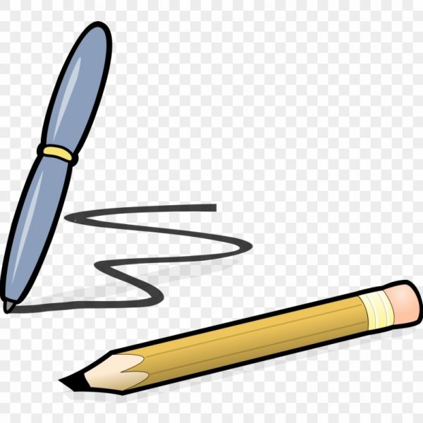 Writing and pencil free. Pen clipart writer pen