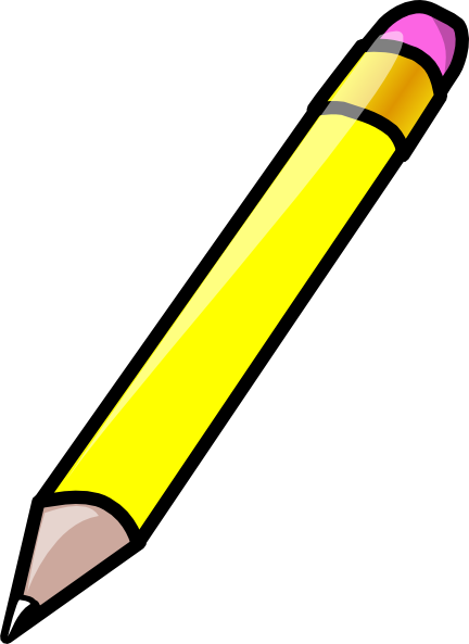 Pencil clipart. Clip art at clker