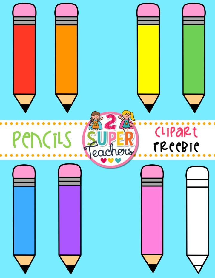 Free for teachers printables. Pencil clipart worksheet