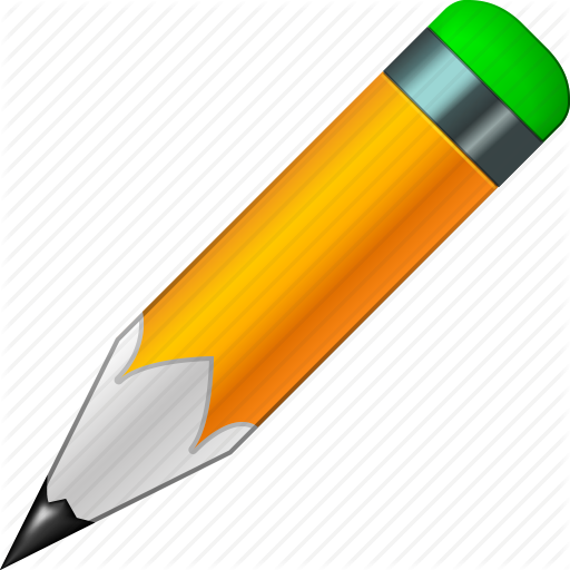 Pencil icon png.  d printing pack