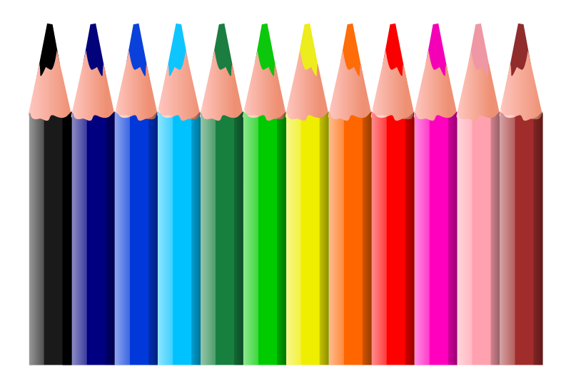 Crayons clipart green crayon. Colored pencil at getdrawings
