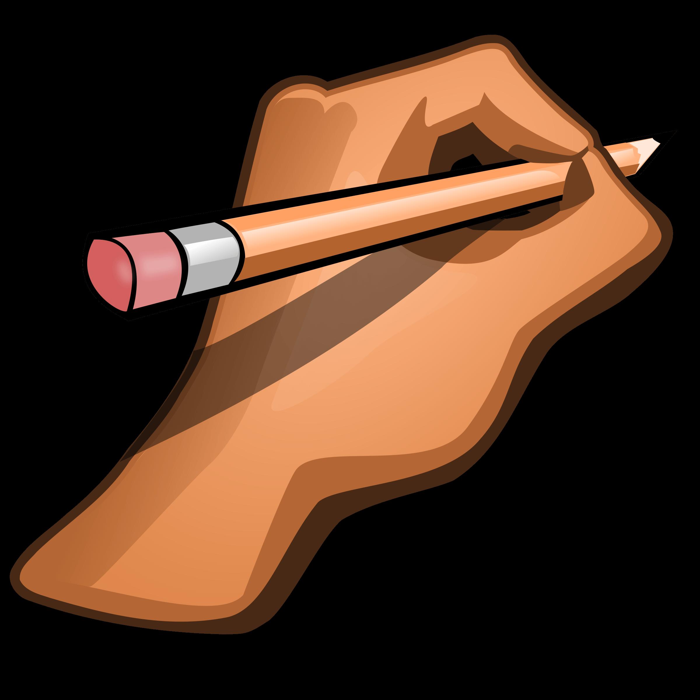 Pencil cliparts many interesting. Pencils clipart hand