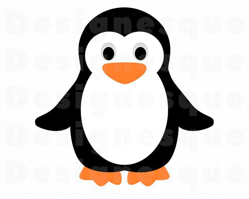 Penguin files for cricut. Clipart penquin svg