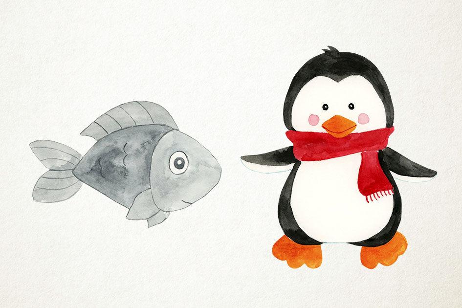 Penguin Eating Fish Stock Illustrations – 36 Penguin Eating Fish Stock  Illustrations, Vectors & Clipart - Dreamstime
