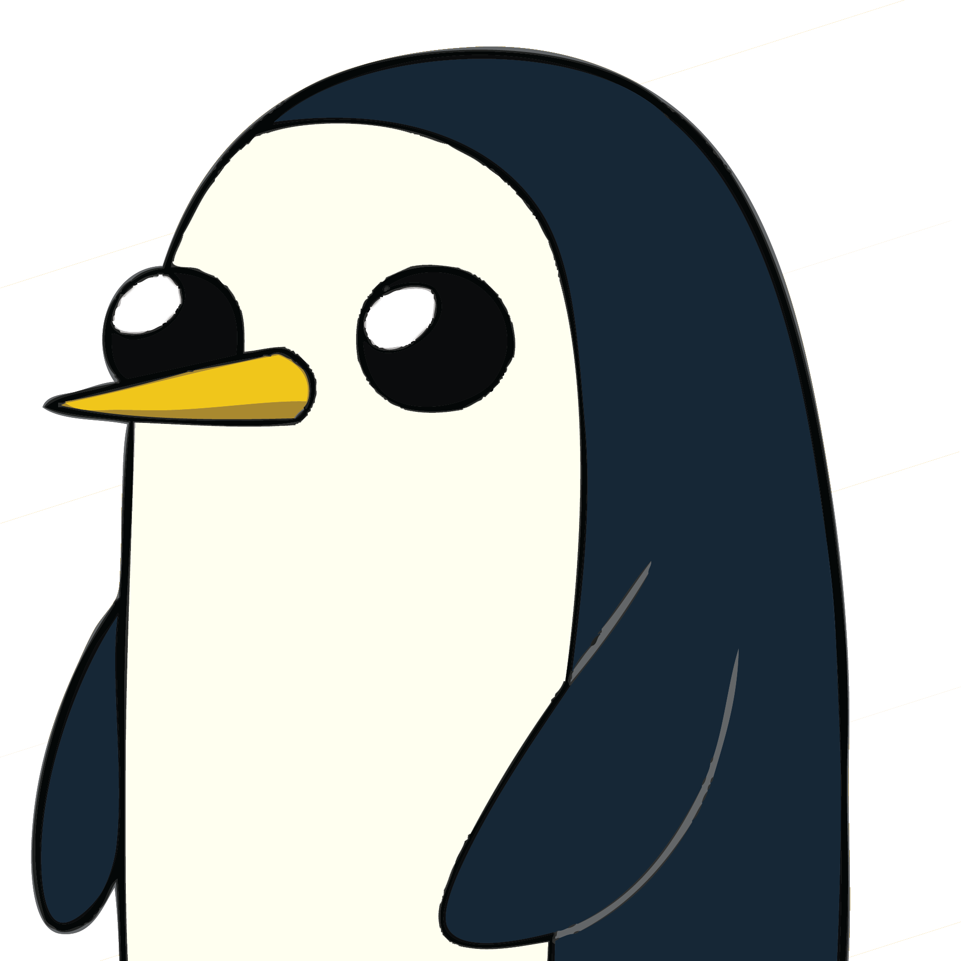 Penguin clipart profile. Racist racistterriost twitter