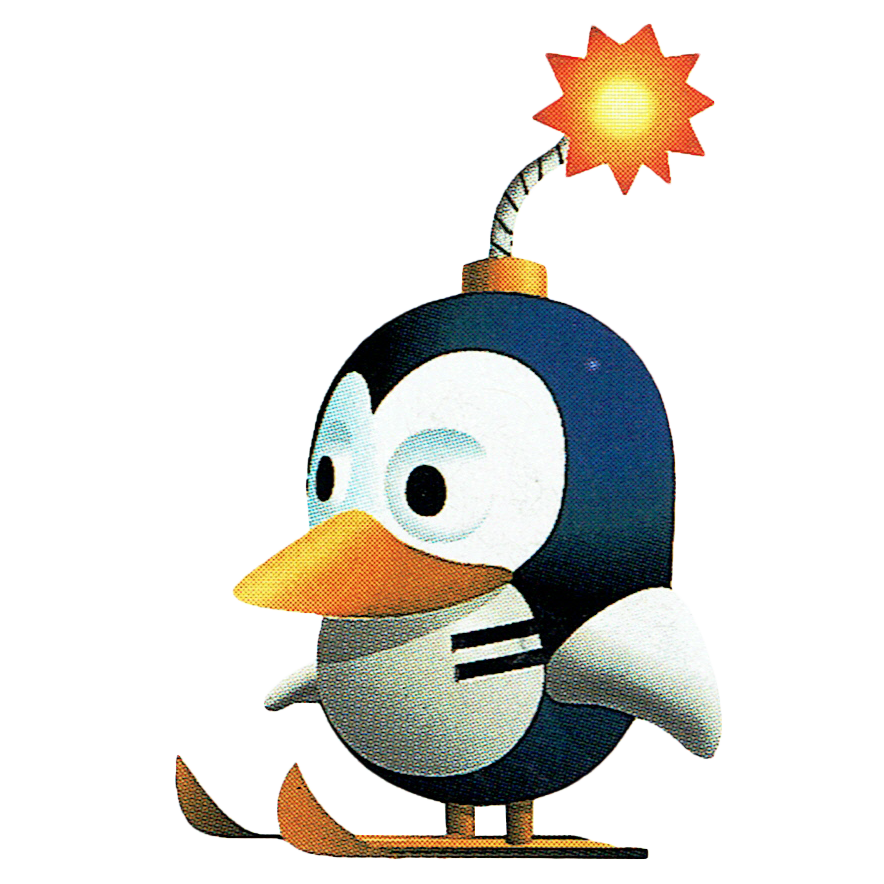 Penguin bombers sonic news. Penguins clipart skiing