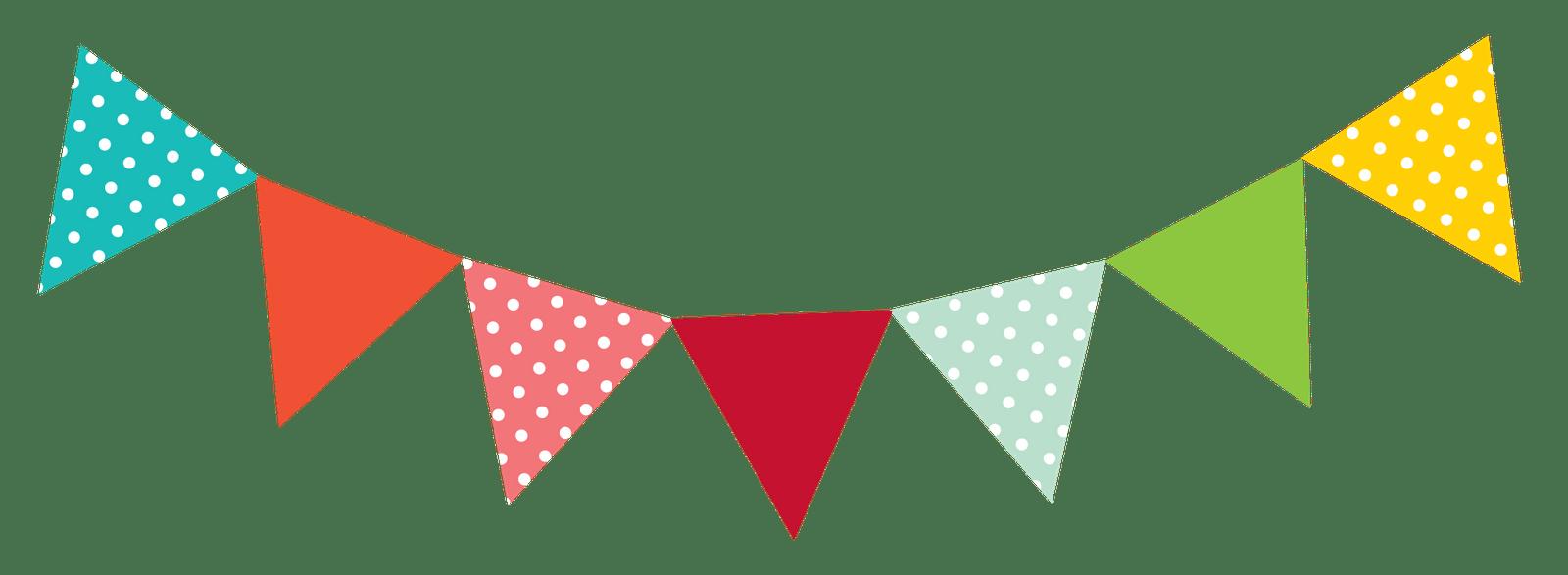 Triangular clipart pennant. American flag in triangle