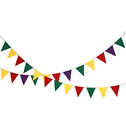Pennant clipart festival banner. Amazon com misscrafts feet