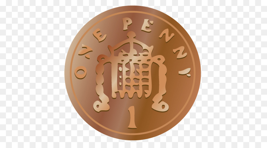 United kingdom coins of. Pennies clipart