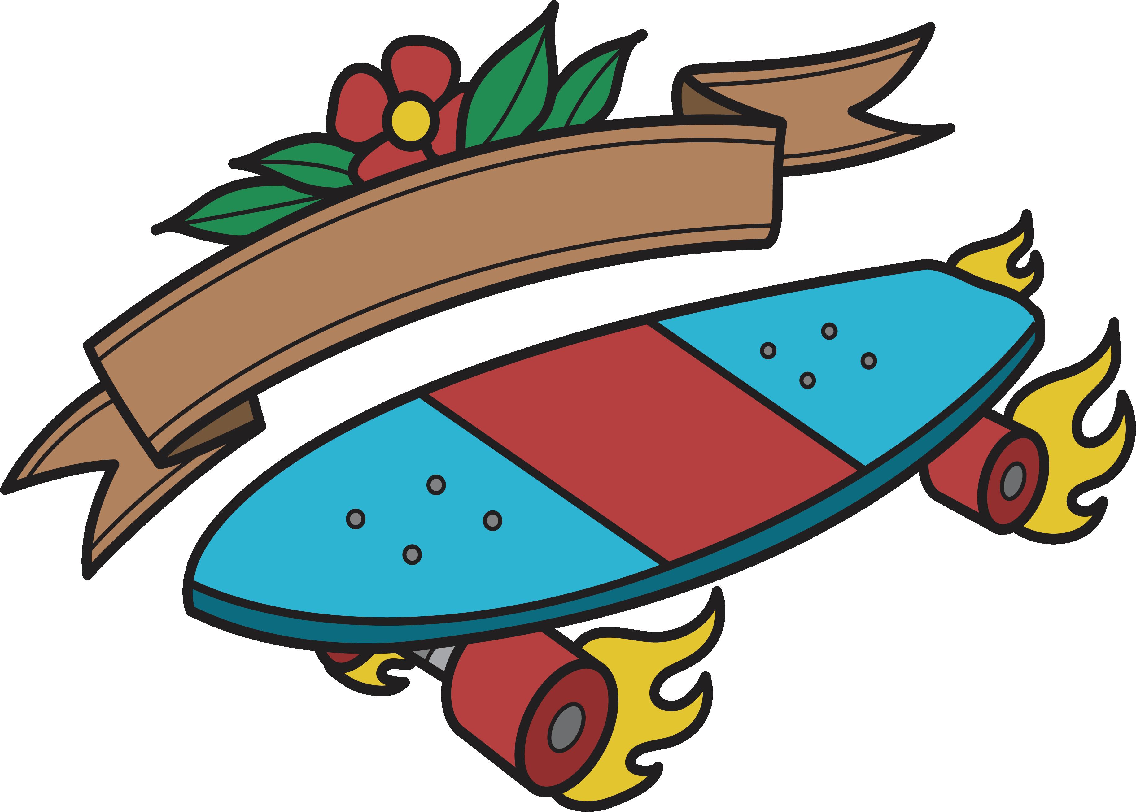 Skate or die skateboarding. Pennies clipart different kind
