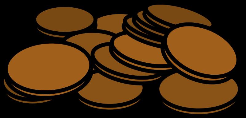 Pennies clipart few.  penny huge freebie