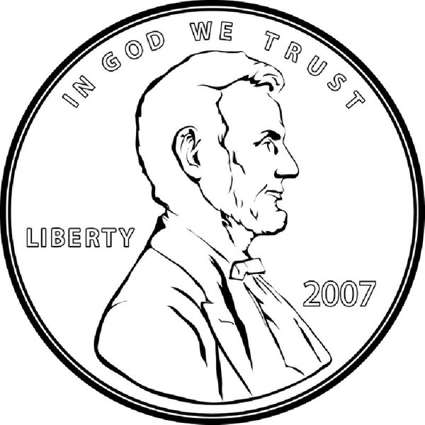 Penny clipart head. Free cliparts download clip