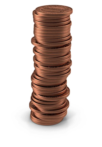 Pennies clipart pennie. Penny png download free