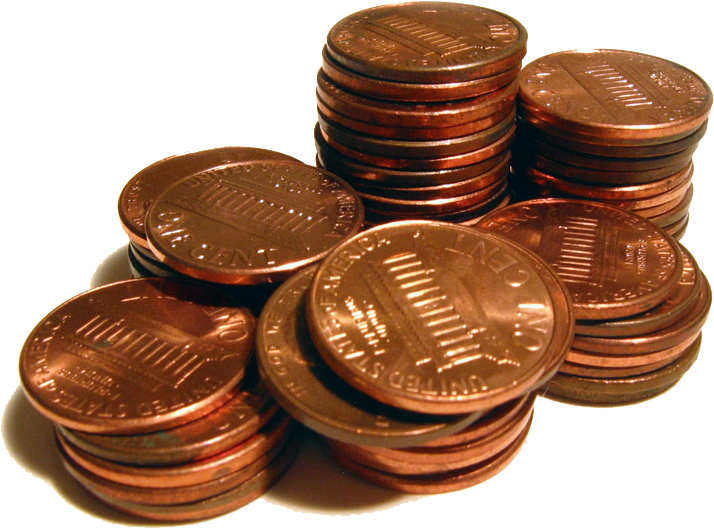 Automatic response technologies downright. Pennies clipart penny pincher