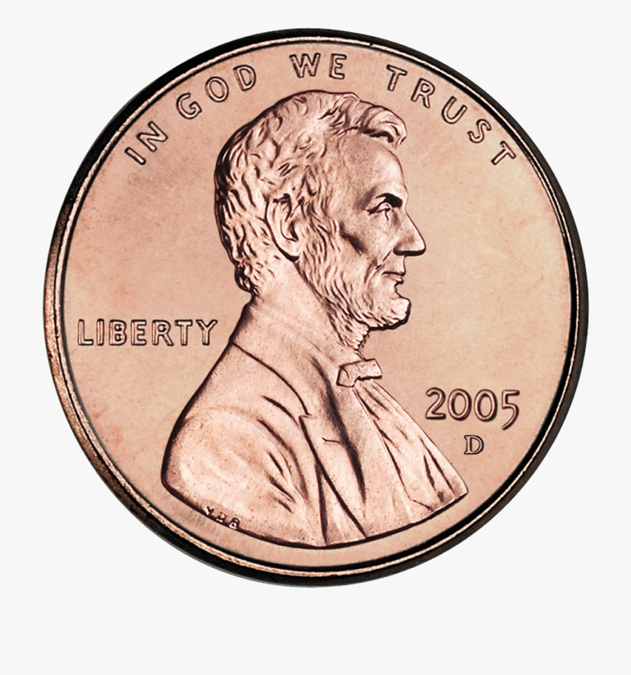penny obverse cropped. Pennies clipart uncirculated
