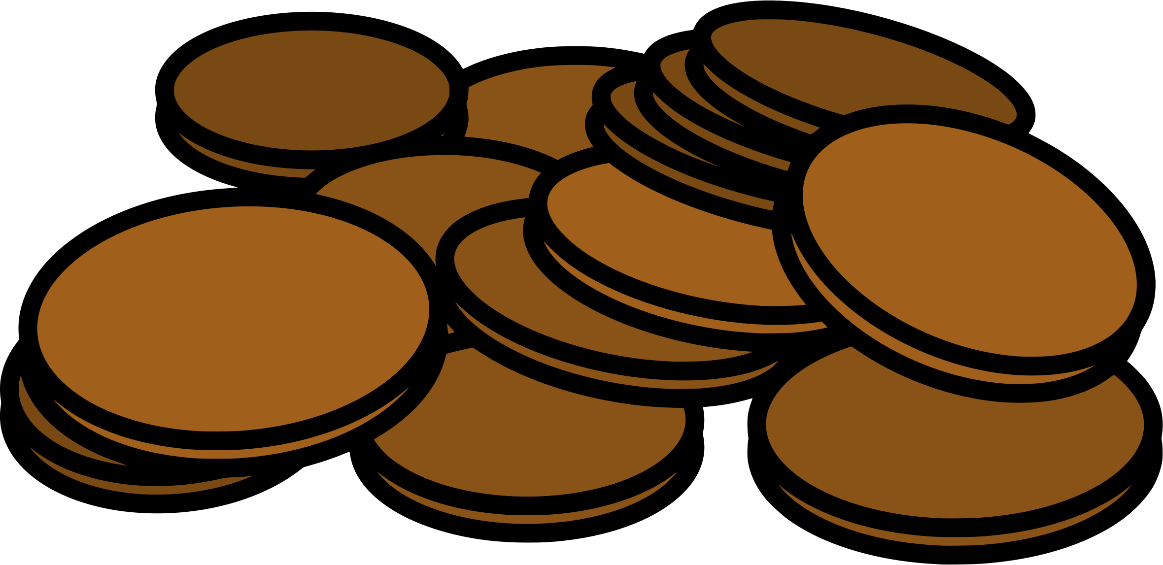 Pennies big image png. Proud clipart penny