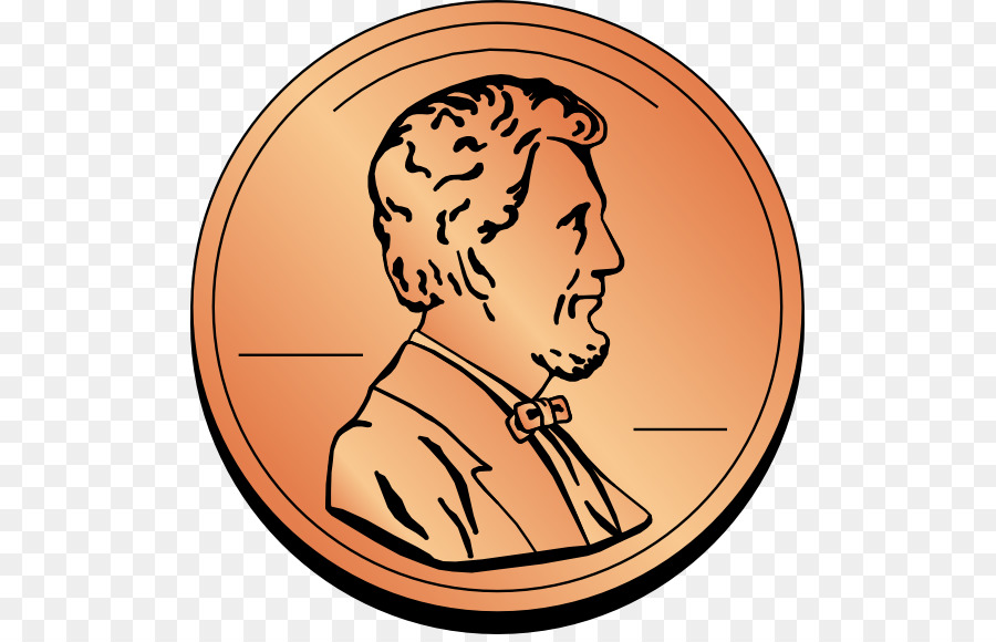 Coin free content clip. Penny clipart