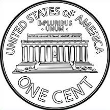 Penny clipart. Free