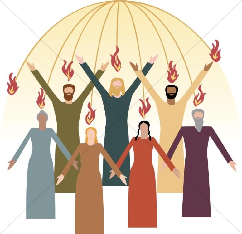 Pentecost clipart. Image graphic sharefaith the