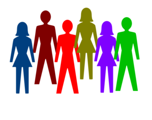 Team of . People clipart