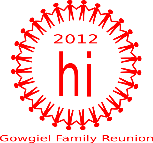 Family art clip at. People clipart reunion