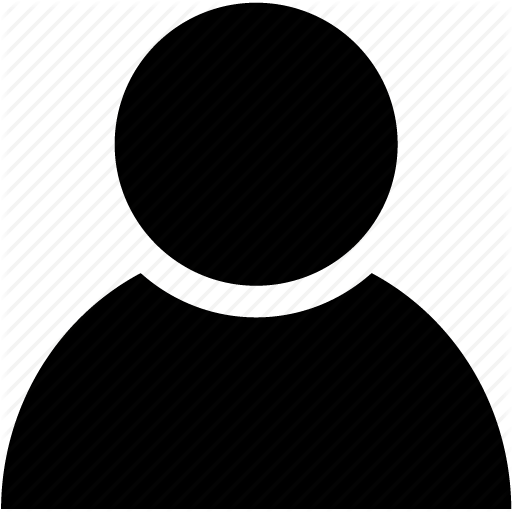 Black easy by joanna. People icon png