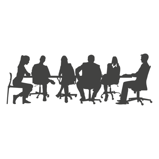People vector png. Business team meeting transparent