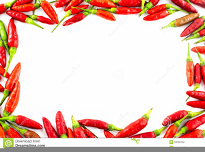 Chilli pepper free images. Peppers clipart border