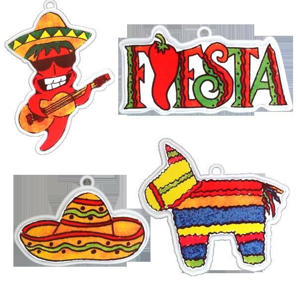 Peppers clipart fiesta. Pack styles per pkg