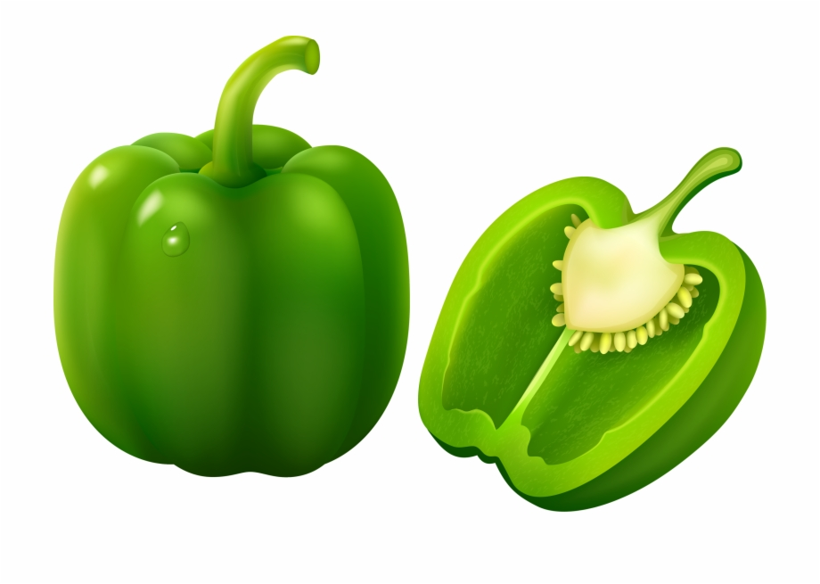 Peppers clipart green vegetable.  fruits and vegetables