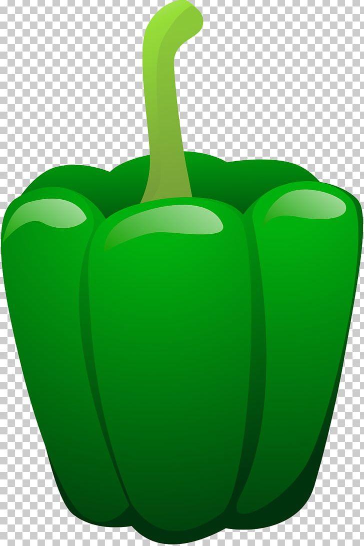 Bell pepper seasonal food. Peppers clipart green vegetable