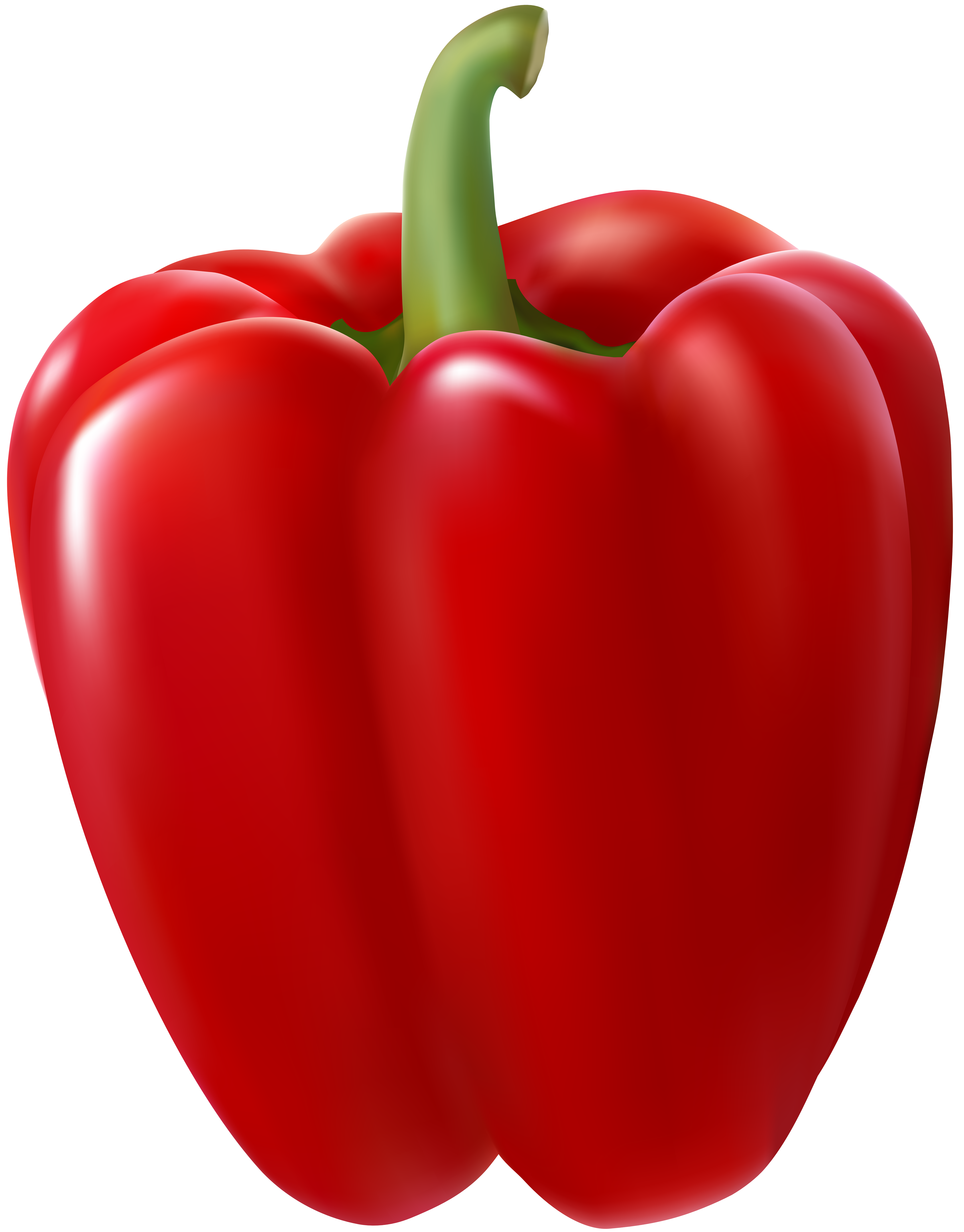 Peppers clipart transparent. Red bell pepper clip