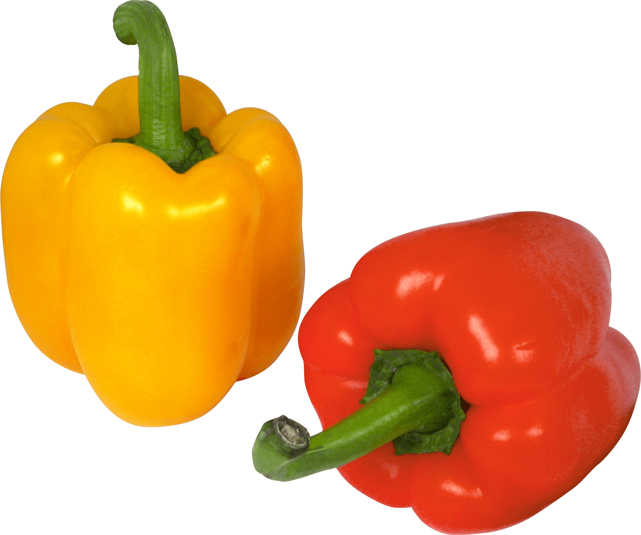 Peppers clipart capsicum. Pepper duo transparent png