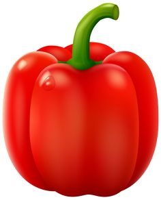 Peppers clipart single vegetable.  best fruit and