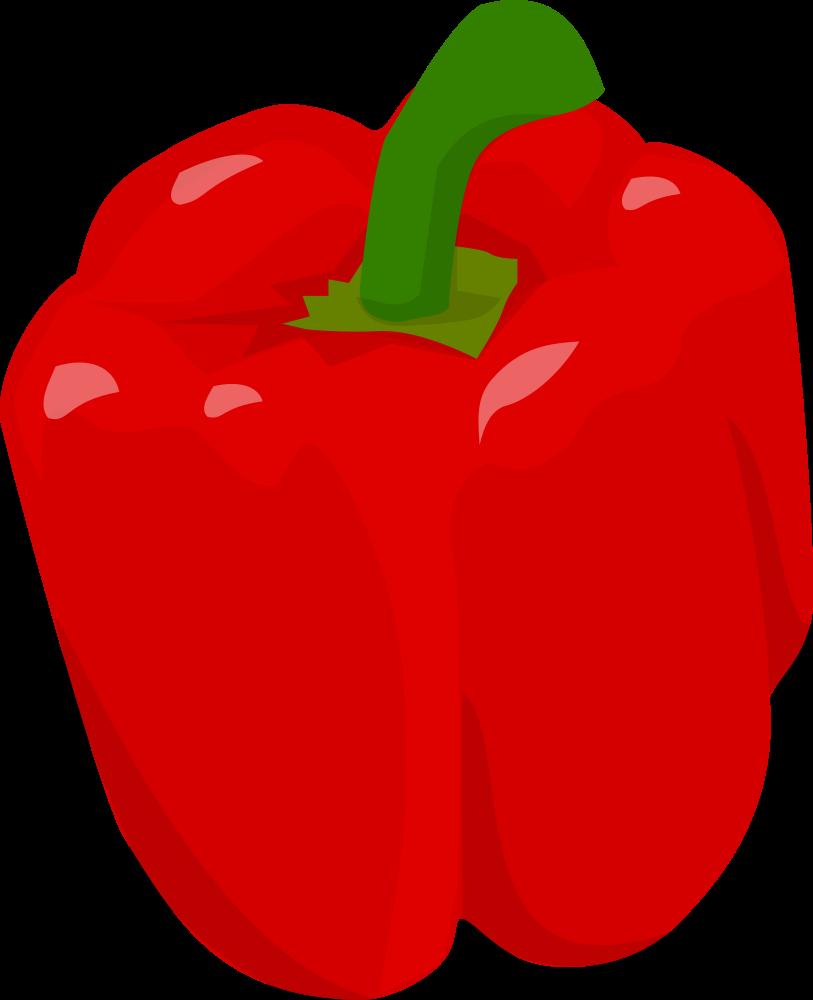 Onlinelabels clip art bell. Peppers clipart capsicum