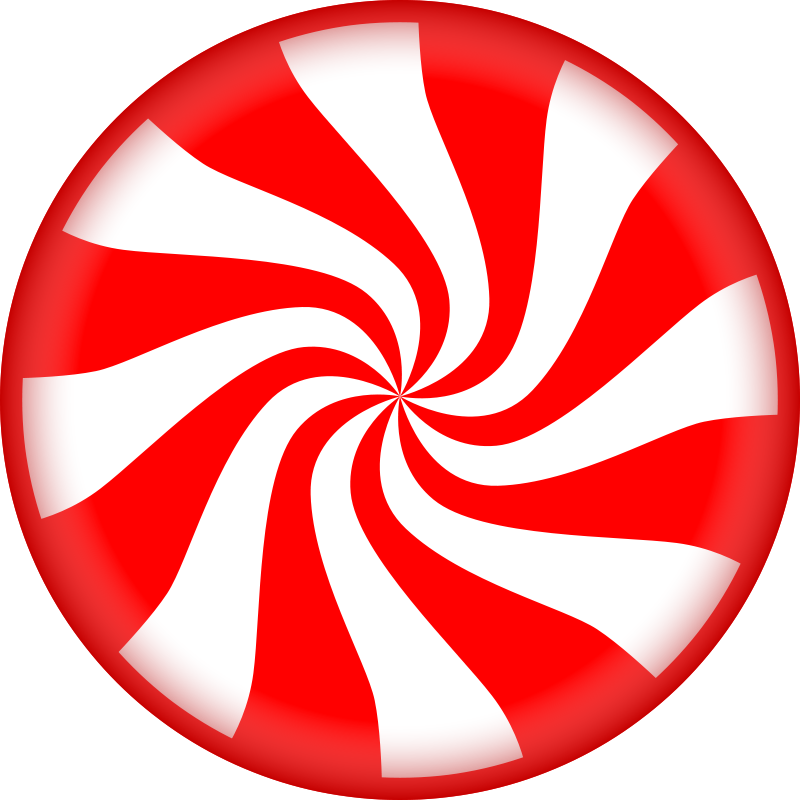 Peppermint clipart. Free candy holidays pinterest