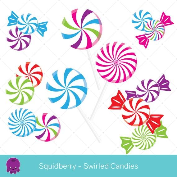 Swirled candies clip art. Peppermint clipart real candy